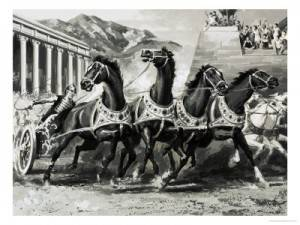 classic chariot race