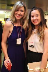 Aleisha Rose Groth and Alicia Ng