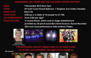 Film and TV Charity Gala Ball November 9th
