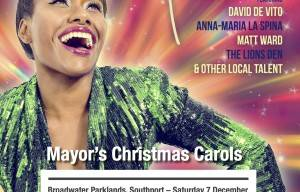 Mayoral Christmas Carols Broadwater Parklands Saturday 7th December