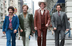 CINEMA RELEASE: ANCHORMAN 2: THE LEGEND CONTINUES