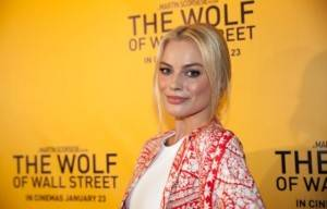 Margot Robbie at  Brisbane Premier :The Wolf of Wall St
