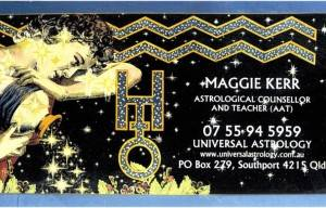 Universal Astrology : Maggie Kerr