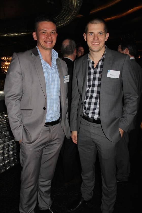 Micheal Bell and Martin Van Rensburg