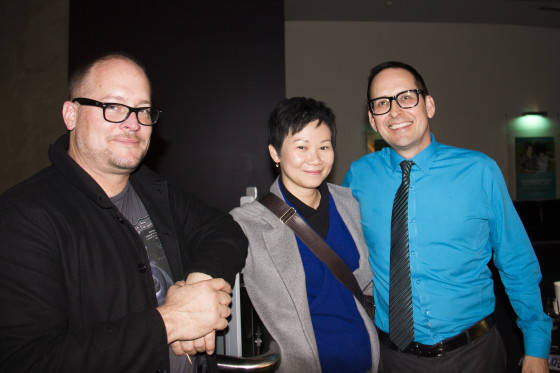 Tim Milfull, Kiki Fung and Terry Haliwell