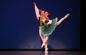 On Centre Stage: A Night at the Ballet with a Flourish