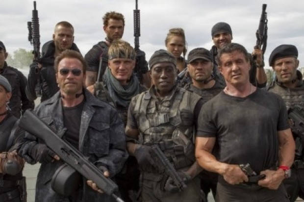 Film review of 'THE EXPENDABLES 3'