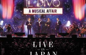 IL DIVO ANNOUNCE 'LIVE IN JAPAN' DVD/CD, SET FOR RELEASE FRIDAY NOVEMBER 21st