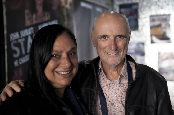 Caroline Russoi and Alan Finney