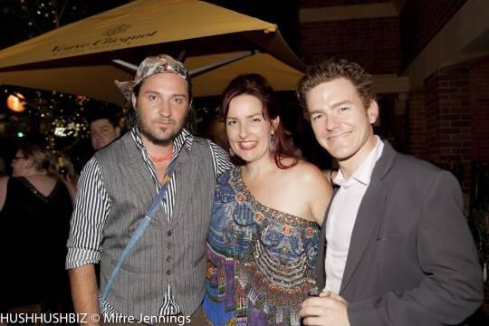 Athan Jon, Emma Randall and Andrew Lowe
