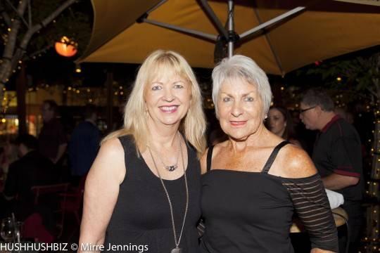 Julia Maloney and Rosemary Wilkes
