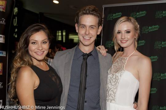 Chantelle Murray ,Scott Young and Tamara McLaughlin