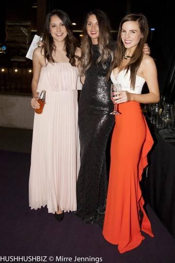 Diana Rodriguez , Katie Reeve and Lauren Taylor