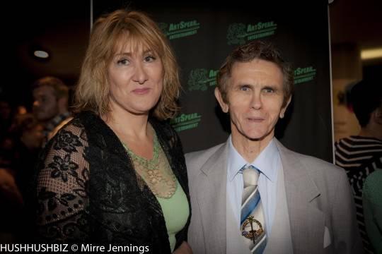 Karen Buckton and Brian Vaughan