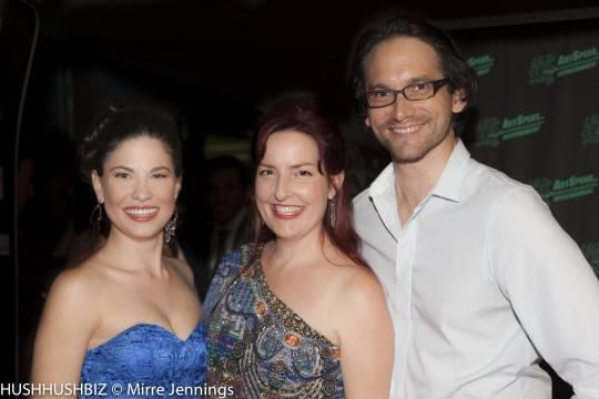 Rita Artmann, Emma Randall and Robert Griffiths