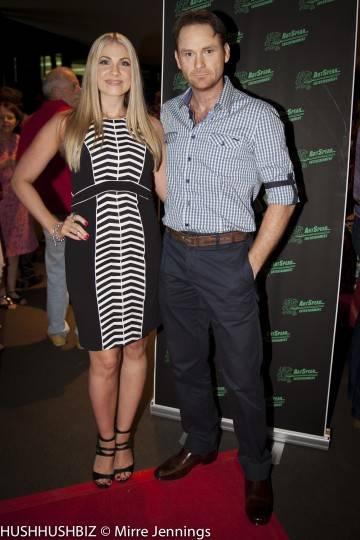 Rob Jenkins and Carmel Savage