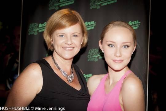 Sonia Wilson and Liv Wilson