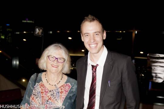 Sue Manger and Nathan Hedger