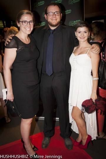 Zac Kelty , Natalie Clement and Johance Theron