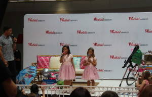 SOFIE GRACE AND ROSIE VISIT WESTFIELD SHOPPING CENTRE GARDEN CITY