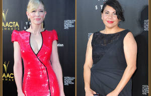 Cate Blanchett and Deborah Mailman as hosts of the 4th AACTA Awards Ceremony