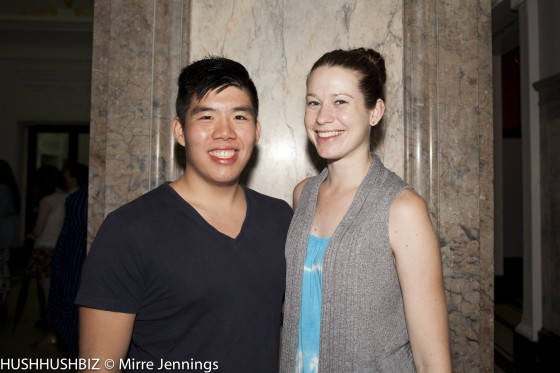 Tommy Tseng and Kelly Marquis