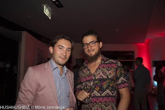 Alex Legget and Thomas Wright