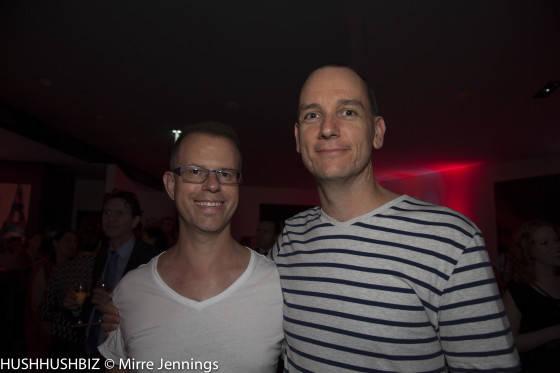 Glenn Prohasky and Mat Simpson