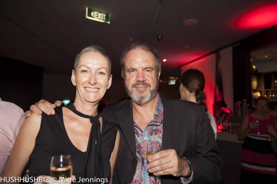 Glenys Higgs and Mathew Ryan