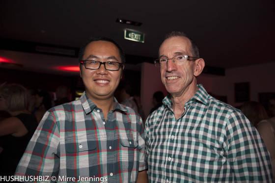 Joe Tang and Mark McCosker