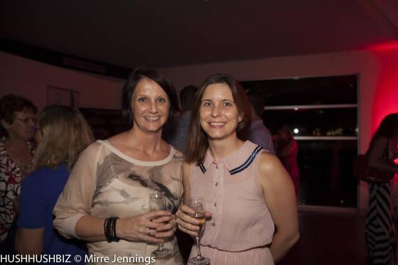 Liz Cameron and Tara Shipsides