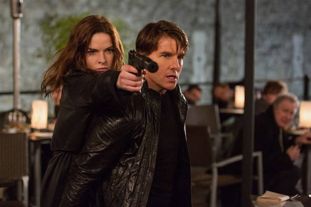 FIRST LOOK AT TEASER TRAILER  'MISSION: IMPOSSIBLE – ROGUE NATION'