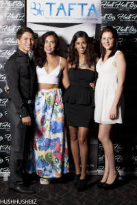 Paris Moletti, Stephanie Rutty, Natalie Jones and Georgina Pilli