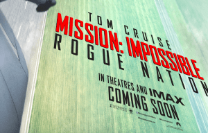 "FIRST LOOK AT TOM CRUISE IN ""MISSION: IMPOSSIBLE 5"""