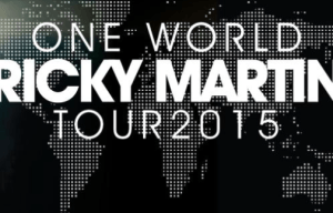RICKY MARTIN INVITES DELTA GOODREM ON ONE WORLD TOUR