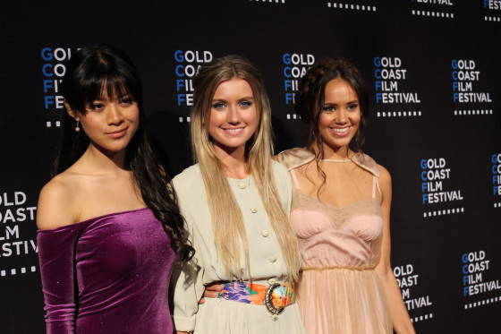 Linda Ngo, Isabel Durant, Allie Bertram from Mako Mermaids