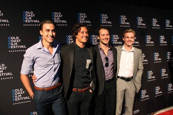 Taylor Glockner, Chai Romuen, Rowan Hills, Dominic Deutsche from Mako Mermaids