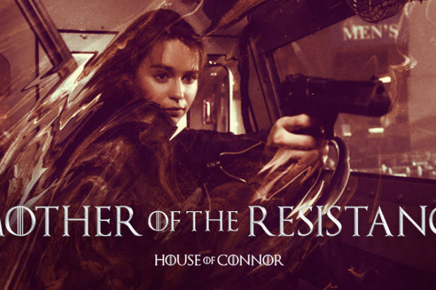 EMILIA CLARKE IS SARAH CONNOR, MOTHER OF THE RESISTANCE IN 'TERMINATOR: GENISYS'