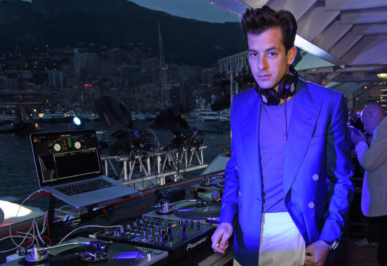 MONACO - MAY 23:  Mark Ronson DJs at the TAG Heuer Monaco Party on May 23, 2015 in Monaco, Monaco.  (Photo by David M. Benett/Getty Images for TAG Heuer) *** Local Caption *** Mark Ronson