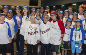 Geena Davis And Rosie O'Donnell Play Softball In Historic Reunion