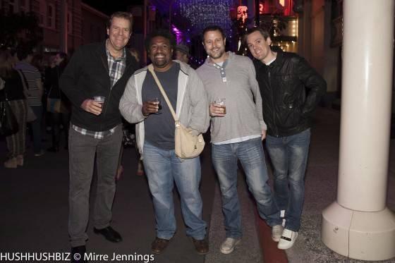 AL Dobie, Trevor Butler, Johnathan Hayde and Anthony Graham.CR2