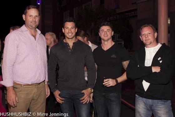 Daniel Cadman, Jeff Leech, Chris Davis and Brett Cuncliffe.