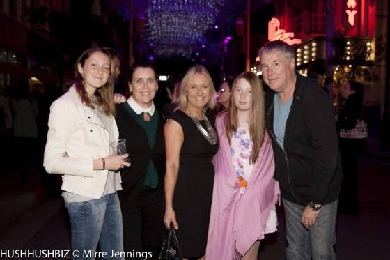 Holly Geale , Alison Geale, Lisa Lees ,Matilda Lees and Mal Lees
