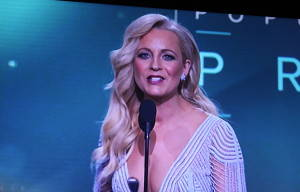 Carrie Bickmore Takes The Gold  Logie and Raises The Awareness of Brain Cancer