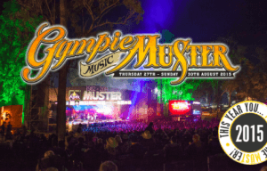 GYMPIE MUSIC MUSTER ARTIST LINEUP ANNOUNCED