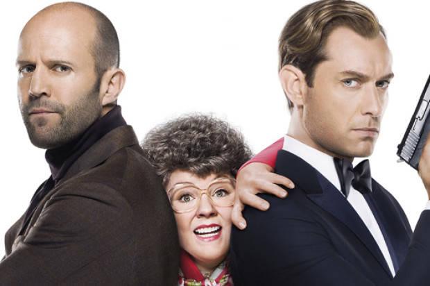 FILM REVIEW: 'SPY'