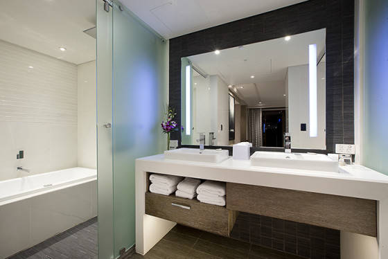Suite Bathroom - Indicative Image Only