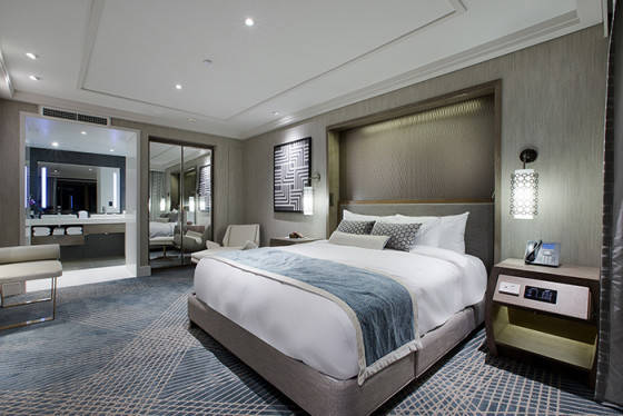 Suite Bedroom - Indicative Image Only