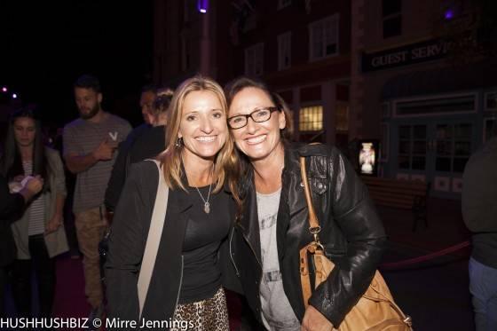 Suzie Ryan and Leanne Goddard