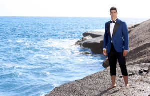 FRANKLIN EUGENE PRESENTS: SHADES OF BLUE MEN'S SPRING/SUMMER COLLECTION 2016